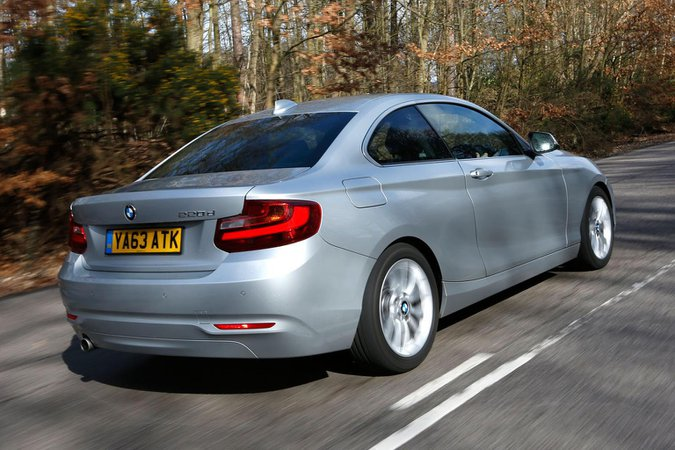 Used BMW 2 Series Coupe 14-present