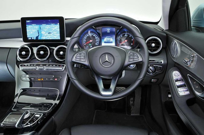 Mercedes C-Class dashboard
