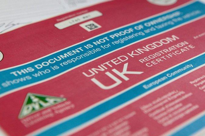 Registration document (V5C)