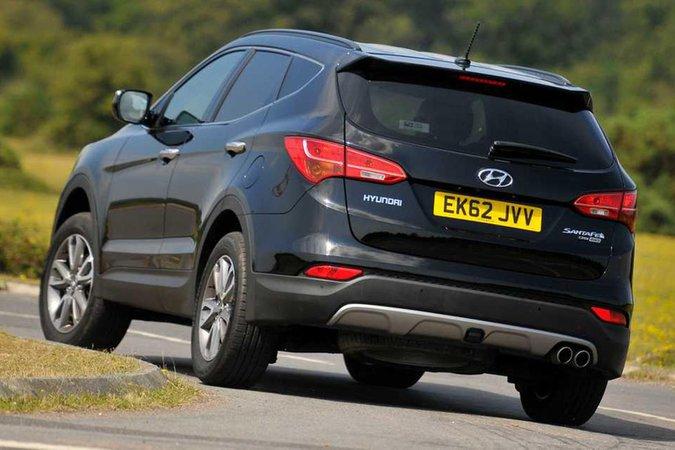 Hyundai Santa Fe rear