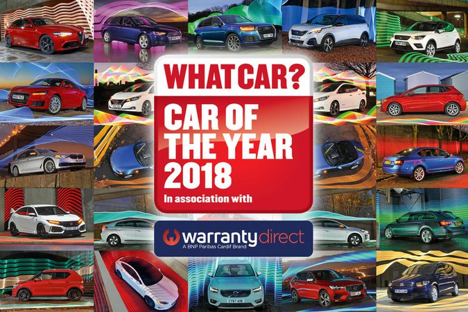 Our What Car? Car of the Year Award winners