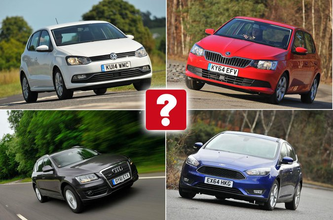 Most popular used car reviews