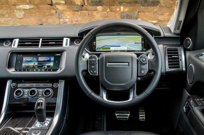 Range Rover Sport dashboard