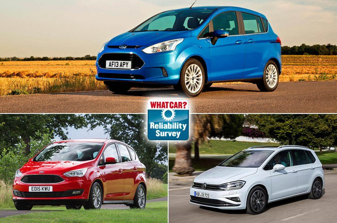 Best and worst MPVs for reliability