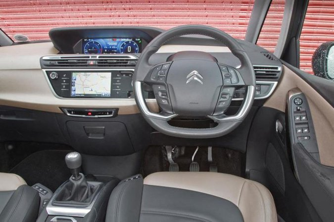 Citroën Grand C4 Picasso dashboard