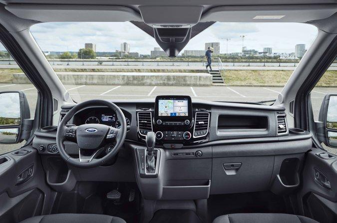 2018 Ford Transit dash