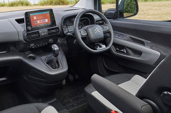 Citroën Berlingo armrest