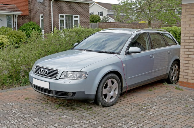 Audi outside