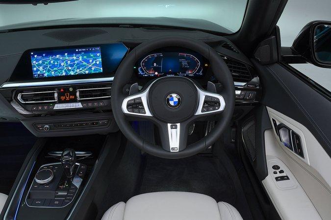 BMW Z4 interior