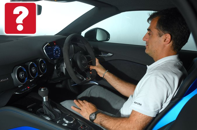 Audi TT interior image