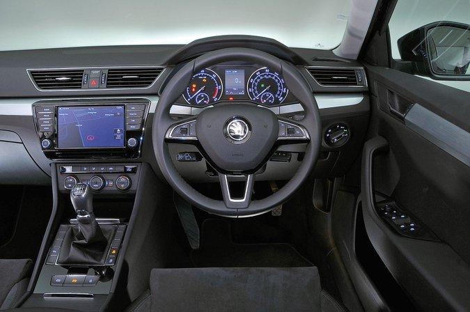 Skoda Superb (2016-present) - interior