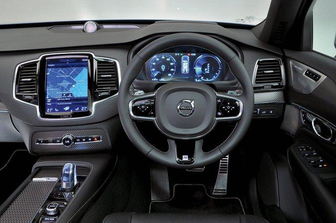 Volvo XC90 T8 (2015-present) - interior