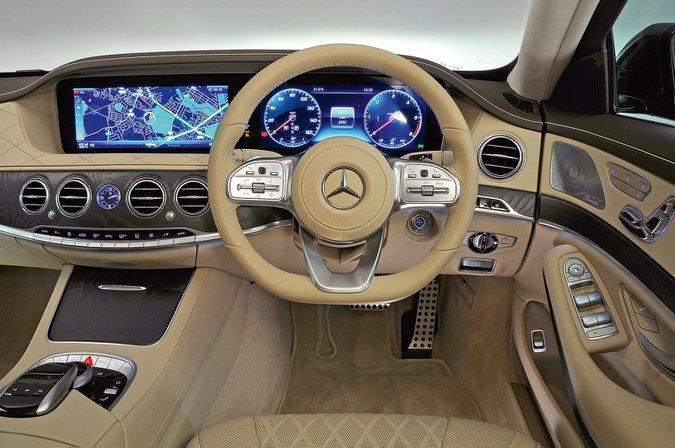 Mercedes-Benz S-Class (2014-present) - interior