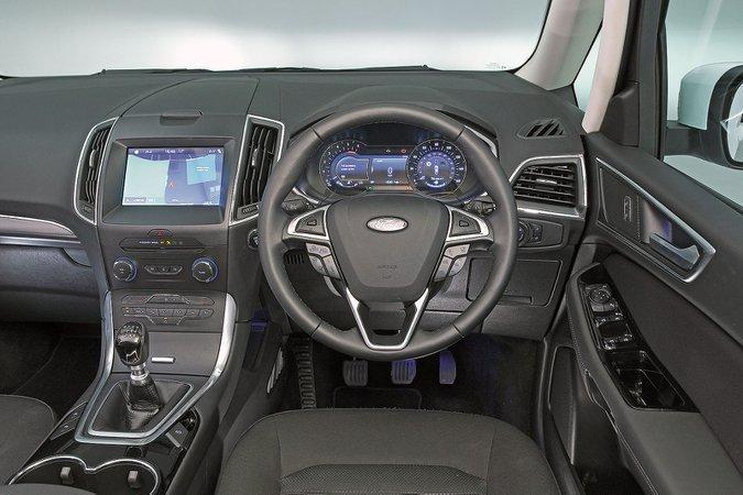 Ford Galaxy (2015-present) - interior
