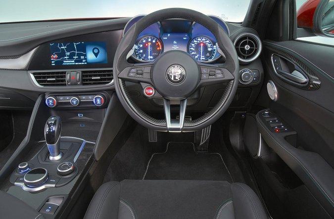 Alfa Romeo Giulia Quadrifoglio (2016-present) - interior