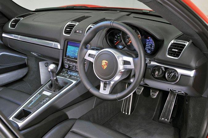Porsche Cayman (2013-2016) - interior
