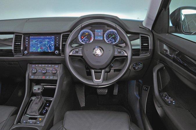 Skoda Kodiaq 2.0 TDI SE DSG [7 seat] - interior