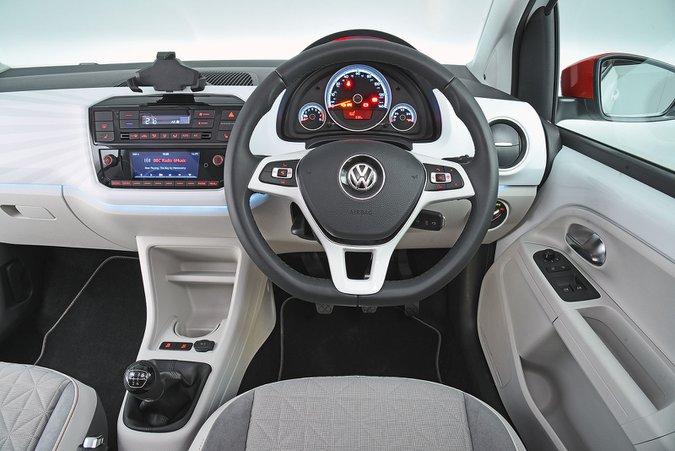 Volkswagen Up (2012-present) - interior