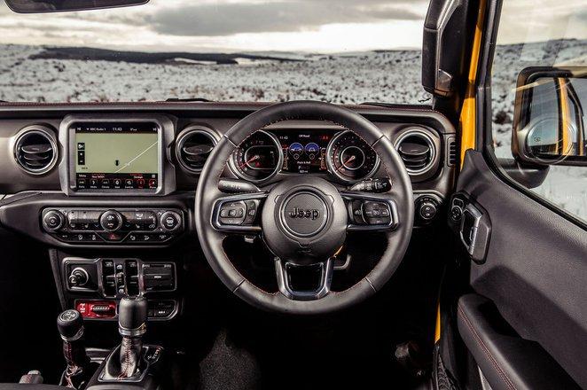 Jeep Wrangler - interior