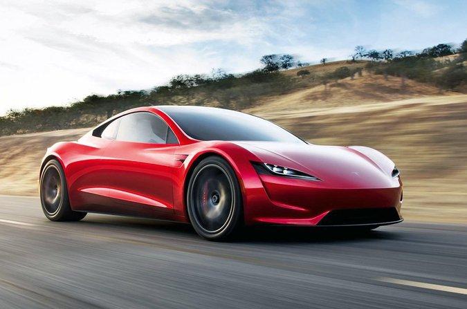 Concetto di Tesla Roadster