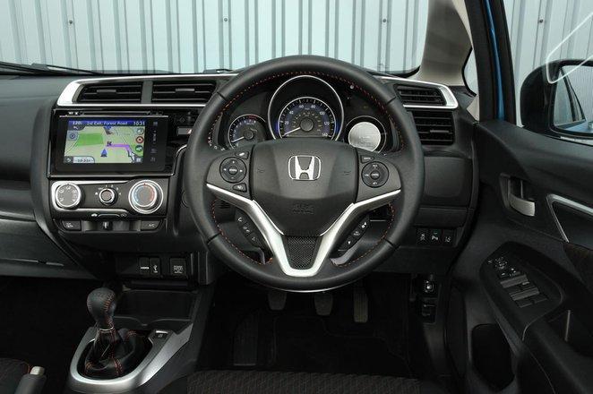 Honda Jazz - interior