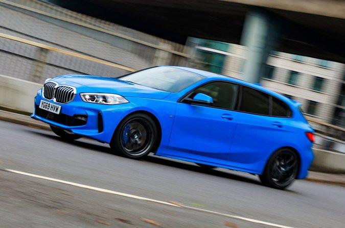 Teste de rastreamento dianteiro de longo prazo BMW Série 1