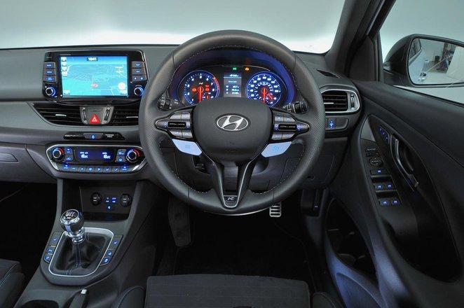 Hyundai i30N - interior