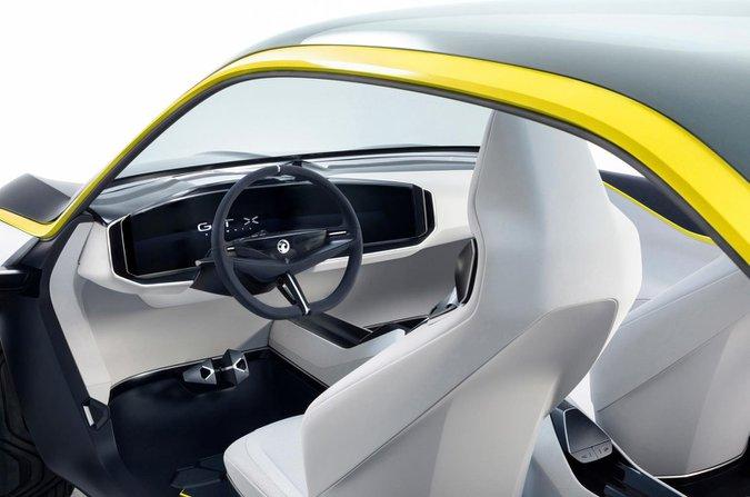 Vauxhall Mokka X: interior