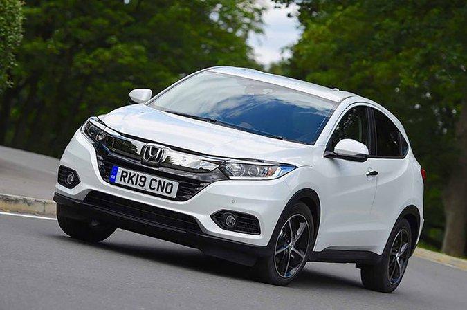 Honda HR-V front three quarters