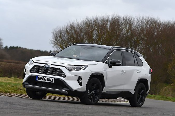 Toyota RAV4 front and side
