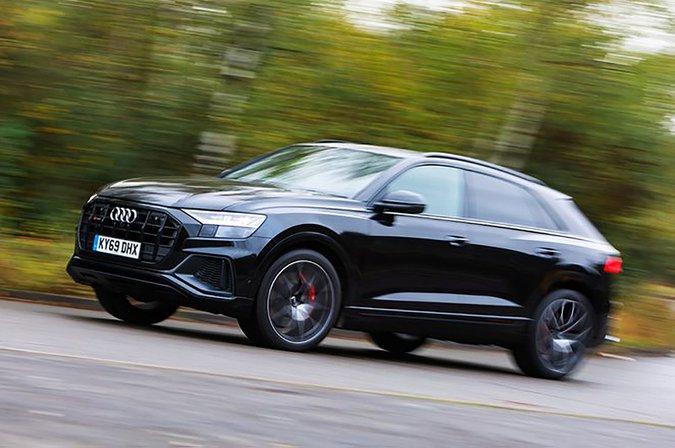 Audi SQ8 side profile