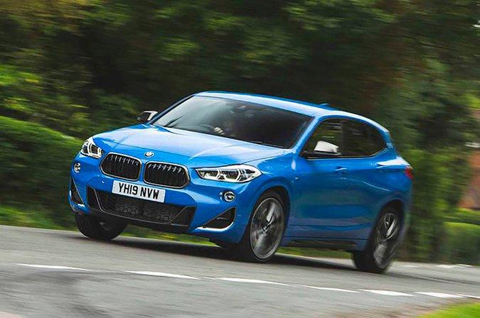 BMW X2 M35i front three quarters