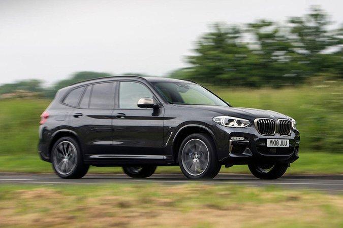 BMW X3 M40i side profile