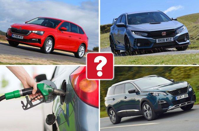 Petrol car compilation image