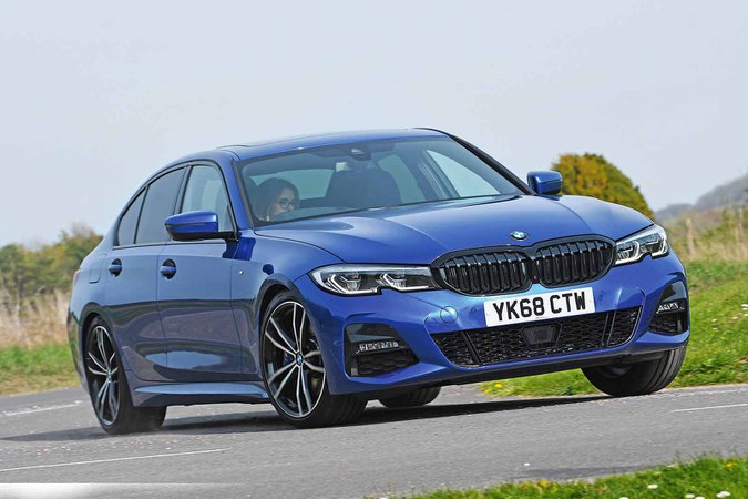 BMW 3 Series 320d front