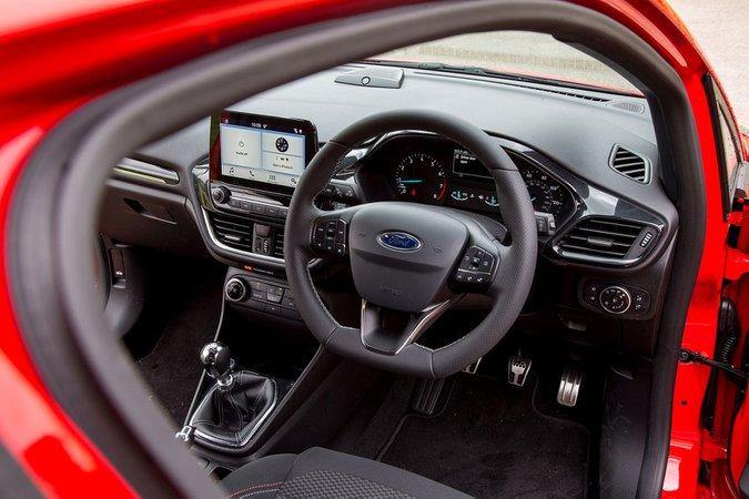 Ford Fiesta ST-Line 1.0 3 Door EcoBoost 100PS - interior