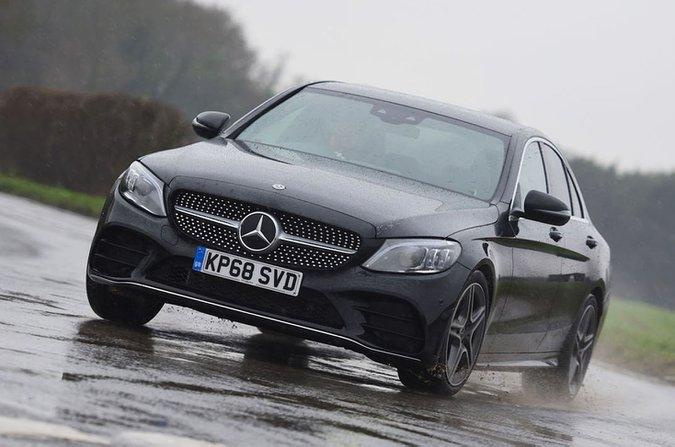 2019 Mercedes C-Class front