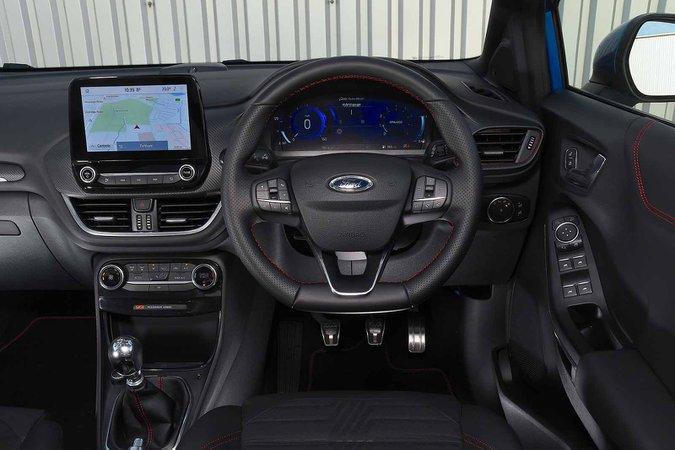 Ford Puma 2020 dashboard RHD