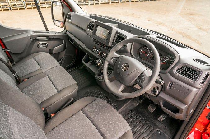 Vauxhall Movano - interior