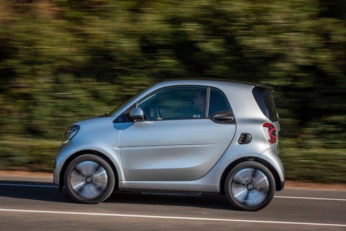 Smart ForTwo EQ 2020 left panning LHD