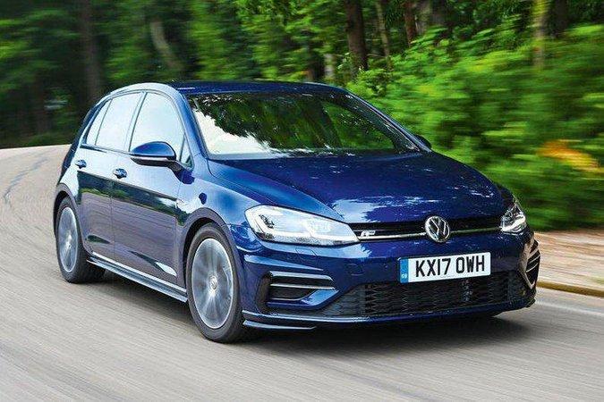 Volkswagen Golf front three quarters