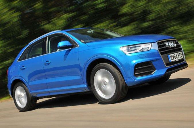 Audi Q3 front three quarters