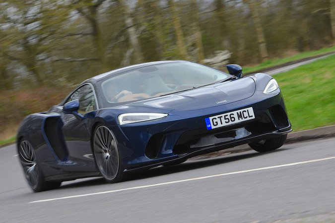 McLaren GT 2020 RHD front right tracking