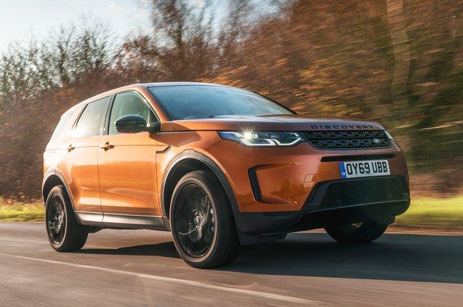 2020 Land Rover Discovery Sport cephesi