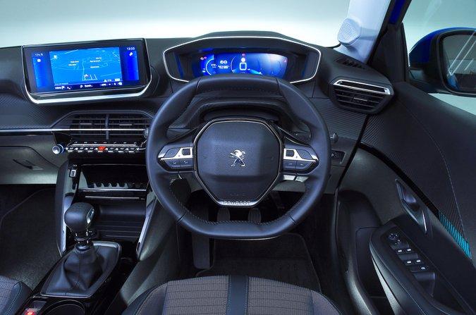 Cruscotto Peugeot 208 - auto blu 69 targhe