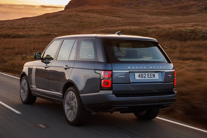 Range Rover rear three quarters