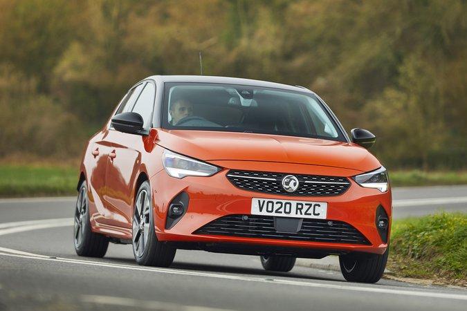 Vauxhall Corsa-e 2020 RHD front cornering