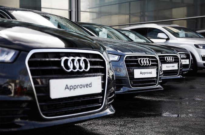 Approved used Audis