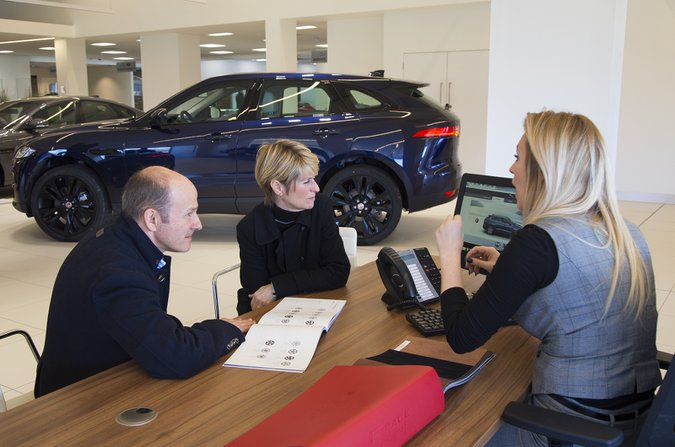Jaguar dealership
