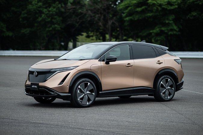2021 Nissan Ariya anteriore